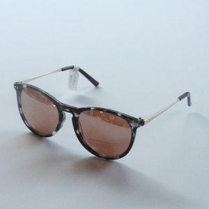 Ann Taylor LOFT Metalic Arem Round Sunglasses